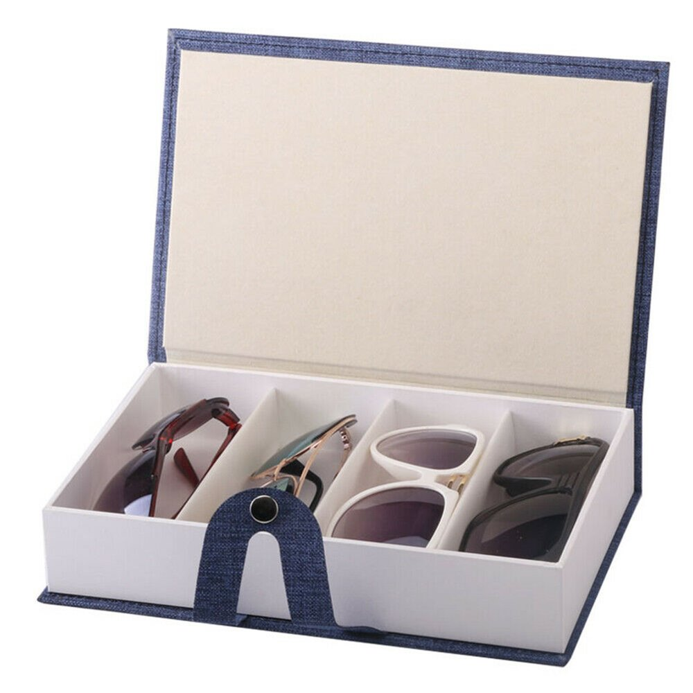 Sunglasses 4 Storage Box Display Stand