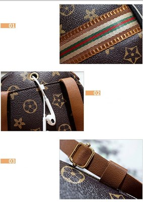 Style: Crossbody or Backpack (Adjustable)  Material: Artificial leather