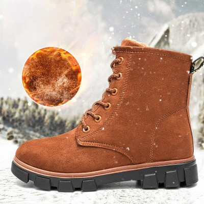 Women Boots Snow Boots Suede Warm Booties