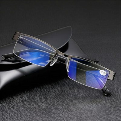 frame Blue Film Anti-radiation Reading glasses NEW
