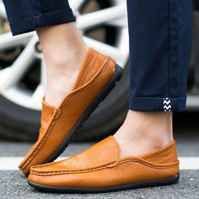 Moccasin Loafer Slip-on Shoes Boat