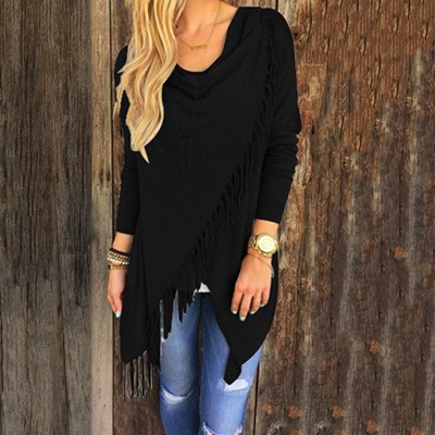 Cardigan Jackets Coats Jumpers Tassel Tops