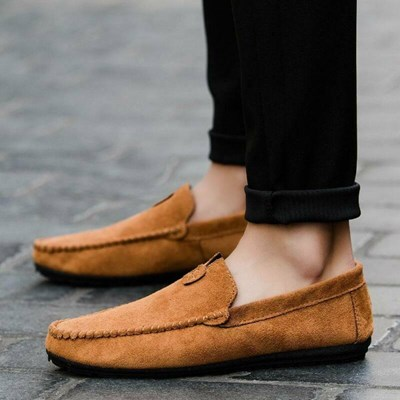 Moccasins Loafers Flat Boat Shoes Soft