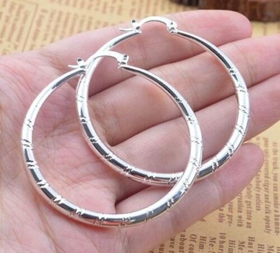 Sterling Silver Ear Stud Hoop Dangle Earrings
