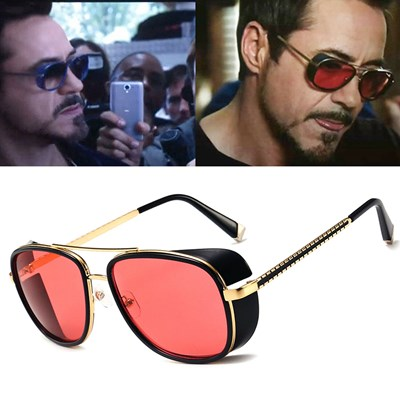 Steampunk Sunglasses Avengers Iron Man Shade Goggles