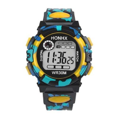 Kids Children Boys Digital LED Sports Watch