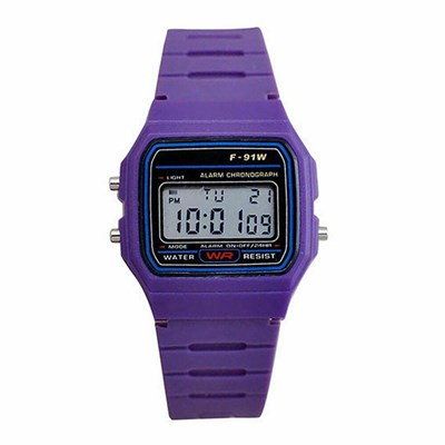 F-91w Men Women LCD Digital Wristwatch