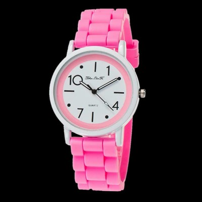 Kids Sport Watch Jelly Silicone Band Ouartz