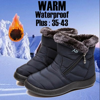 Women Winter Warm Shoes Snow Boots