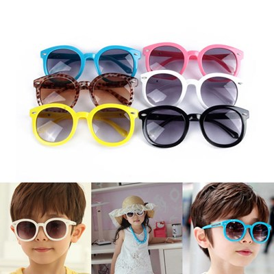 Kids Round Color Sunglasses