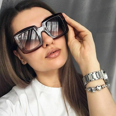 Vintage Fashion Large sunglasses