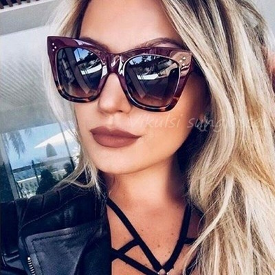 Square Cat Eye Aviator Sunglasses