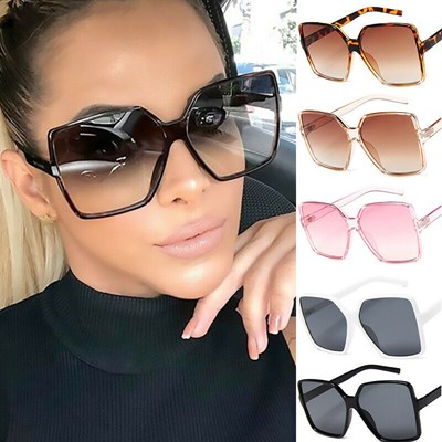 New Oversized Square women Sunglasses